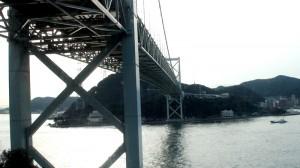 関門海峡-いざ別府へ!