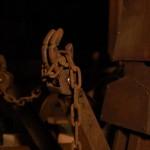 イカ型ロボットの手