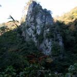 長門峡-岩