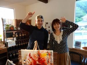 原田かおりさん梅乃葉のイカ墨カレーを紹介!