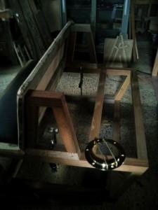 足場板で作る椅子