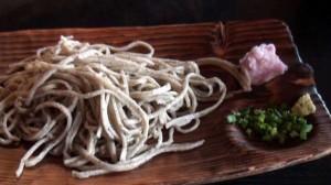 里味庵の蕎麦