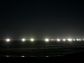 夏の夜の風物詩、海上の漁り火