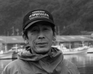 須佐一本釣船団長佐々木寛さん